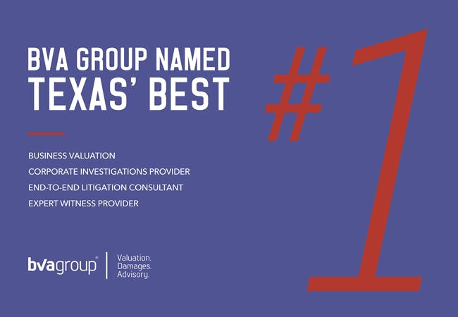 Texas Lawyer Names BVA Group Texas' Best of 2015