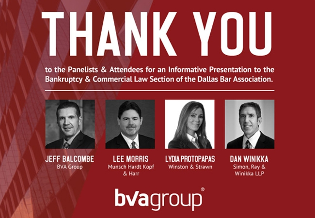 BVA Group Presents to the Dallas Bar Association