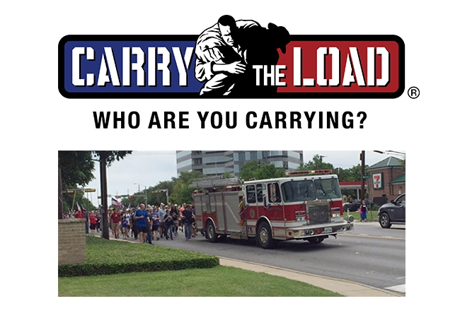 Team BVA Participates in the 2015 Carry the Load Event